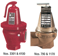 B&G ASME Safety Relief Valves