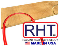 RHT Floor Panel System For Radiant Heat Systems